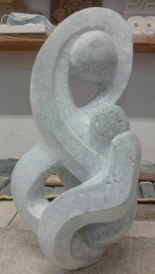 sculpture moderne amour